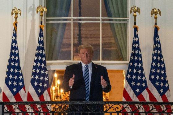 Donald Trump, primul discurs public la Casa Albă de la ieşirea din spital. Ce a declarat preşedintele american