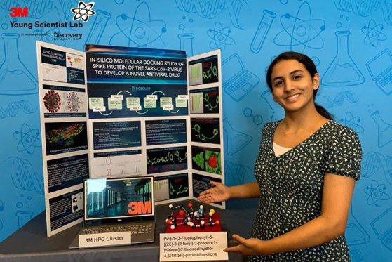 Anika Chebrolu, tânăra de 14 ani care a făcut o descoperire care ar putea duce la un remediu pentru Covid-19