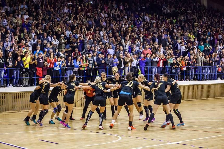 Dunărea Brăila şi Gloria Buzău şi-au aflat adversarele în European Handball League