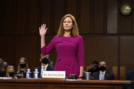 """Judecătoarea Amy Barrett, desemnată de Donald Trump, vrea să aibă o linie """"independentă"""" la Curtea Supremă"""