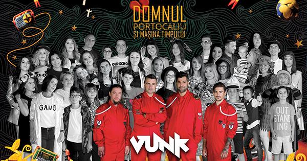 Lansare album Vunk – Domnul Portocaliu si masina timpului