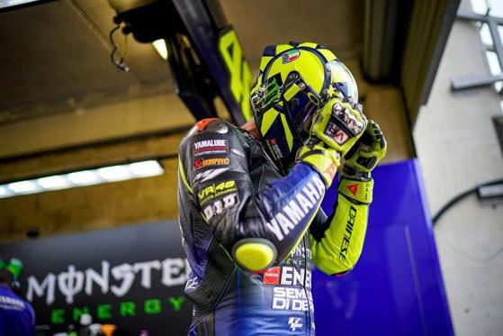 Multiplul campion mondial MotoGP, Valentino Rossi, are COVID