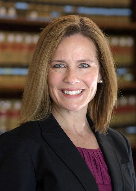 Trump o desemnează pe judecătoarea Amy Coney Barrett pentru a ocupa locul lui Ginsburg la Curtea Supremă