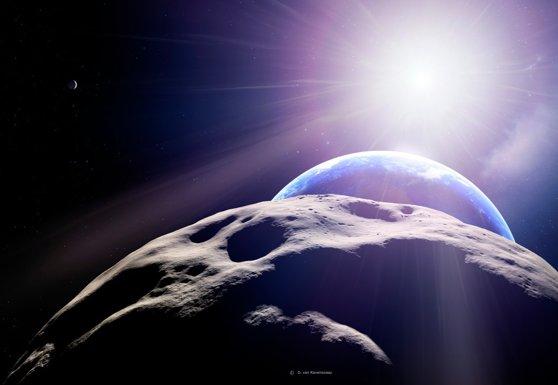 Un asteroid ar putea lovi Pământul în anul 2068