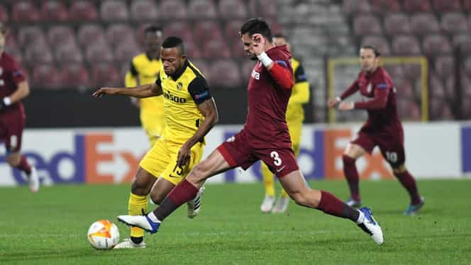 CFR Cluj rămâne neînvinsă în Europa