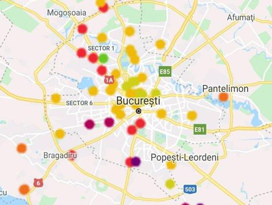 Aerul din Bucureşti devine irespirabil. Cum explică Garda de Mediu valorile mari ale poluării