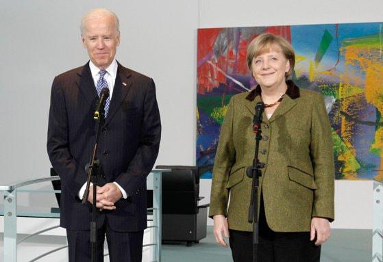 Angela Merkel şi Joe Biden evocă importanţa parteneriatului transatlantic