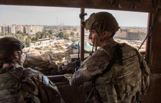 Atac cu rachete asupra ambasadei SUA din Irak, la câteva minute după anunţul privind retragerea trupelor
