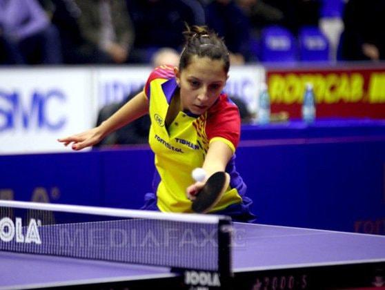 Bernadette Szocs s-a calificat în optimile de finală ale Cupei Mondiale la tenis de masă