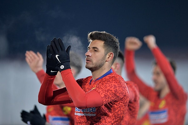 Mijlocaşul FCSB-ului, Lucian Filip, se pregăteşte să revină pe teren