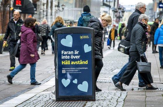 Suedia se aşteaptă la vârful pandemiei
