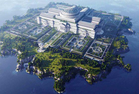 Universul lui Tolkien este reconstruit în Minecraft