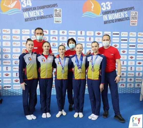 Ana Bărbos, victorie la europeanul de la Mersin. Gimnasta a obţinut medalii de aur la toate cele 4 finale pe aparate