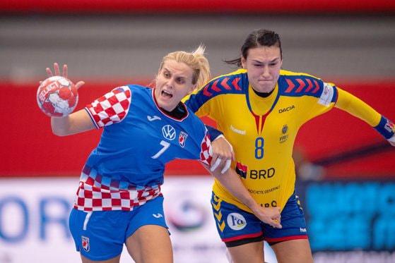 Campionatul European de Handbal. România a pierdut meciul cu Croaţia, 20-25, şi nu mai are şanse de calificare în semifinale
