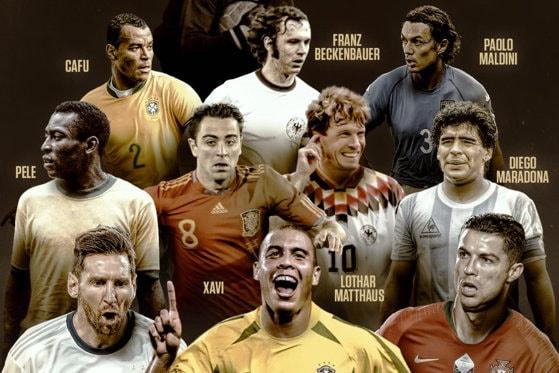 """France Football a desemnat """"Echipa de Aur"""": cei mai buni fotbalişti din istorie"""