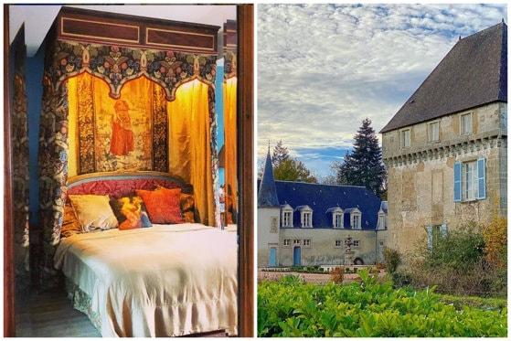 Izolare la castel. O vloggeriţă fuge de pandemie într-un chateau medieval din Franţa