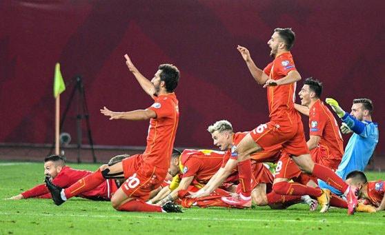 Macedonia de Nord, adversara României în preliminariile CM 2022 are o singură înfrângere în ultimele 9 meciuri