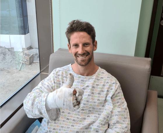 Pilotul Romain Grosjean, recuperare miraculoasă după accidentul care i-a şocat pe iubitorii de Formula 1