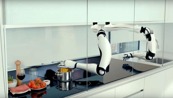 Un robot care găteşte singur costă 275.000 de euro