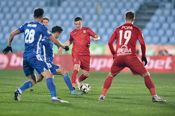 Voluntari cedează cu 0-2 în faţa Chindiei, care urcă pe loc de play-off