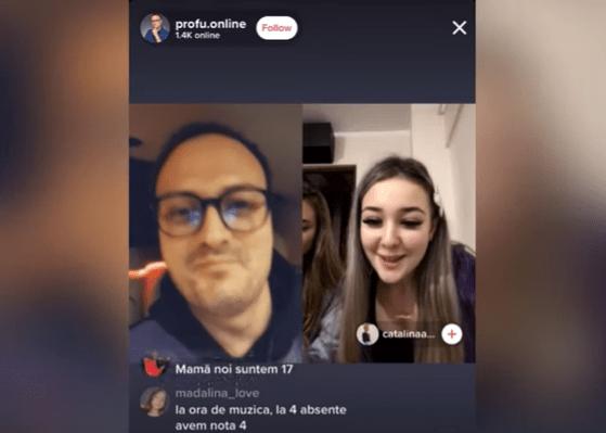 """Contul de TikTok al lui Alexandru Cumpănaşu, """"profu.online"""", unde vorbeşte cu adolescenţi, în atenţia Poliţiei Capitalei"""