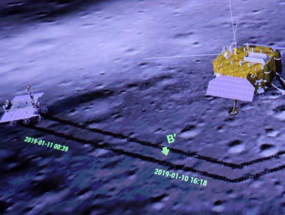 Se împlinesc doi ani de când sonda spaţială chineză a transmis primele imagini cu partea întunecată a Lunii