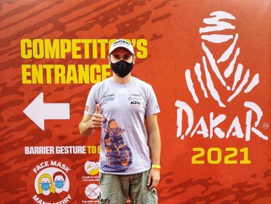Mani Gyenes este pe locul 1 după prima etapă a Dakar Rally 2021 la categoria Malle Moto