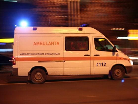 Trafic blocat pe DN 1A, în Braşov, din cauza unui accident