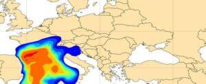 Depunerile de praf în ţara noastră vor putea fi observate în zonele şi intervalele cu ploaie | FOTO: mediafax.ro