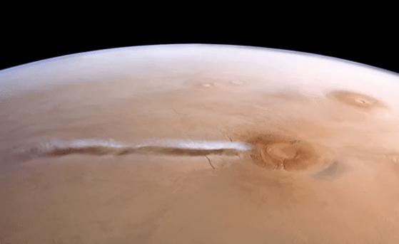 Norul de pe Marte care i-a surprins pe oamenii de ştiinţă. Dimensiunile sale sunt impresionante