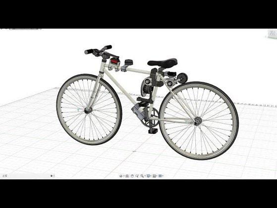 """Bicicleta smart a fost inventată. Aceasta """"îşi ţine"""" echilibrul singură"""