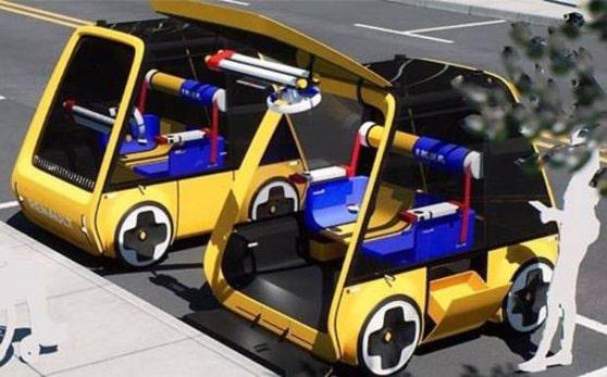 Höga, maşina de 5.000 de euro care îţi vine acasă ca o piesă de mobilier