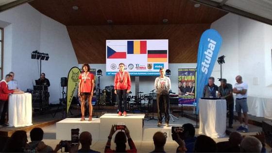 Nicoleta Sasu a câştigat medalia de aur la Campionatul Mondial de Alergare Montană