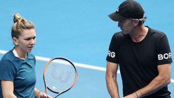 Simona Halep se desparte de Darren Cahill, antrenorul care a dus-o pe locul 1 mondial